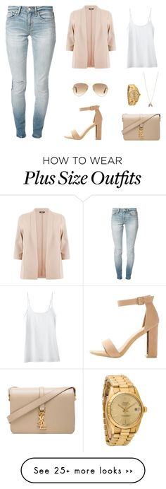"""""""Untitled #697"""" by patrisha175 on Polyvore featuring Jockey, Marc by Marc Jacobs, Yves Saint Laurent, Rolex, Minor Obsessions and Ray-Ban"""
