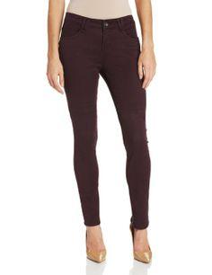 Amazon.com: Democracy Women's Skinny Color Bottom Jean: Clothing