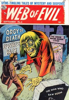 Comic Book Cover For Web of Evil v1 #6