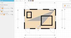 FloorPlanner software add windows feature Kitchen Design Software, Interior Design Software, House Design, Windows, Flooring, Wood Flooring, Architecture Design, House Plans, Home Design