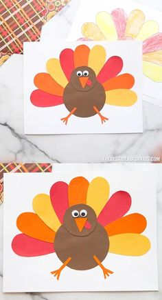 Turkey Template (Free Printables) - The Best Ideas for Kids