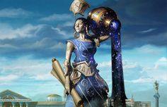 Efara, Deusa da Pólis. Por Eric Deschamps.