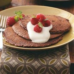 12 Days of Pancakes from Taste of Home, including Cocoa Pancakes Recipe