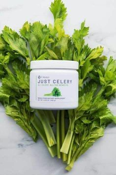 Organic celery in a container. Easy to mix, no juicer, no mess supports hydration and clean digestive system Celery Juice Benefits, Summer Detox, Celery Recipes, It Works Marketing, Skinny Coffee, It Works Distributor, It Works Global, It Works Products, Happiness Is A Choice