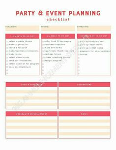 Microsoft offices free event planning template great for helping i love event planning i am very creative and love using that skill to decorate and to organize events i have experience with event planning with the fbccfo Image collections