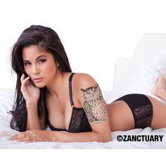 Owl Temporary Tattoo Sleeve-Owl Tattoo Sleeve-Half Tattoo Sleeve-Women Temporary Tattoo-Arm Back Thigh-Yoga Gym Beach-Cover Up-ZANCTUARY
