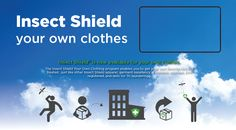 Have your own clothes professionally treated for mosquitoes and ticks - lasts 70 washings --- ISYOC