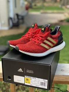 low priced a754e 3431d Adidas Ultra Boost Womens Game of Thrones House of Lannister Sz 9.5W(Brand  New