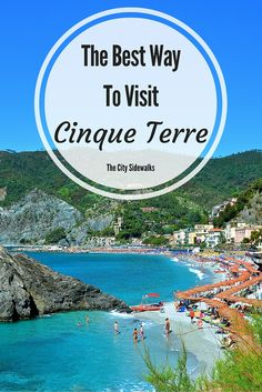 Looking for the best way to see Cinque Terre? Here is a great way to see it all in a short amount of time!