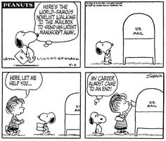 Snoopy the Author