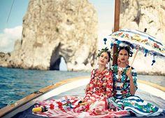 La Canzone Del Mare - Anna Dello Russo · Boo George · Dolce & Gabbana · Giovanna Battaglia