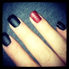 Christmas party nails