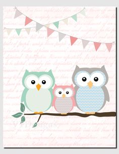 https://www.etsy.com/es/listing/244034473/baby-girl-nursery-art-mint-coral-owl?ref=related-6