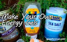 Easy to make homemade energy gels using organic ingredients. Energy gel for runners and endurance athletes that you can make yourself.