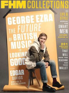 Check out George Ezra @ Iomoio George Ezra, Edgar Davids, Saint Motel, The Wombats, Members Of One Direction, I Just Love You, Four Letter Words, Smart Men, British American