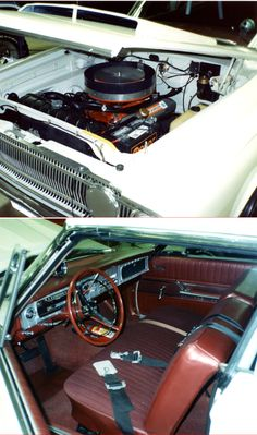 Car 96 - 1965 Dodge Coronet - The engine detailed to resemble a 426 Wedge and the stock interior cleaned up quite well.