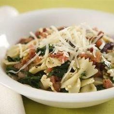 Spinach Basil Pasta Salad - Allrecipes.com