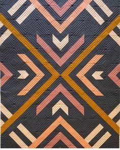 Modern Quilting Designs, Modern Quilt Patterns, Modern Quilt Blocks, Patchwork Designs, Loom Patterns, Creeper Minecraft, Art Gallery Fabrics, Southwest Quilts, Embroidery Designs