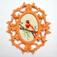 Good idea- use an old mirror frame!