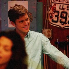 aaron tveit. He needs to stop. he needs to just calm down and get ugly for like two minutes. Look at dat face.