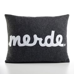sometimes i think this pillow describes my day...and it would be nice to throw this at my kids. :-)