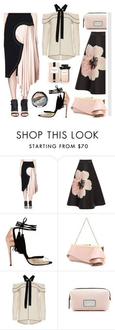 """Asymmetric Skirts"" by bysc ❤ liked on Polyvore featuring Roksanda, Massimo Dutti, Emanuel Ungaro, Proenza Schouler, Marc Jacobs and Chantecaille"