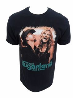 Sugarland Concert Tour 2011 T Shirt Size L Large Country Music Duo #Hanes #ShortSleeve