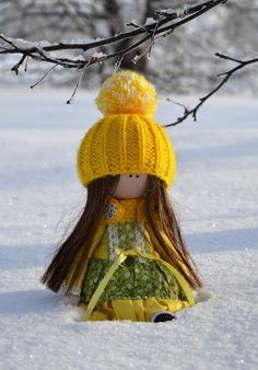 Куклы ручной работы - девчонкам на 8 марта