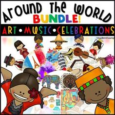 Around the WorldAround the World BUNDLE! Art - Celebrations - Holidays - MusicInclude history, tradition, music, art, and multicultural fun into your classroom! This bundle contains three StudentSavvy Products! Celebrations Around the World Art Around the World Music Around the World **Over 40% Savings with Bundle! _____________________________________________________________________Celebrations Around the World!