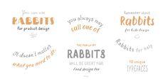 TT Rabbits - Webfont & Desktop font « MyFonts