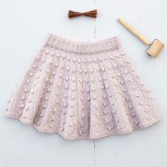 Knitting For Kids, Baby Knitting Patterns, Baby Patterns, Crochet Baby, Knit Crochet, Knit Baby Dress, Crochet World, Free Pattern, Baby Kids