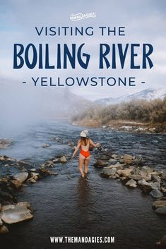 The Boiling River in Yellowstone National Park feels like a hidden gem Well the secret s out - we re sharing what to expect in this amazing Wyoming hot springs one of Yellowstone best geothermal features Yellowstone Vacation, Yellowstone National Park, Yellowstone Attractions, Yellowstone Hot Springs, West Yellowstone Montana, Us National Parks, Grand Teton National Park, Travel Usa, Snow Travel