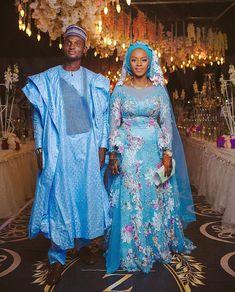 Nigerian Wedding Dress, African Wedding Attire, Muslim Wedding Dresses, Muslim Brides, Nigerian Weddings, Nigerian Bride, Bridal Dresses, African Traditional Wedding Dress, Traditional Wedding Attire