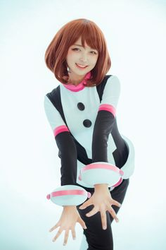 Cosplay Anime Costume Pine(션) ochako uraraka Cosplay Photo - Cure WorldCosplay Kawaii Cosplay, Anime Cosplay, Uraraka Cosplay, Cute Cosplay, Cosplay Makeup, Amazing Cosplay, Cosplay Outfits, Best Cosplay, Cosplay Girls