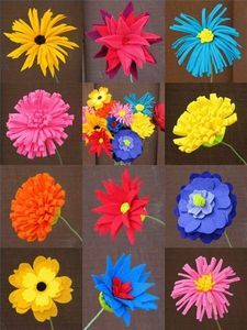 Sewing Fabric Flowers felt flowers More More - Making Felt Flowers. Create environmentally friendly flowers from recycled felted-wool sweaters and scraps. Flowers can be worn Felt Diy, Felt Crafts, Crafts To Make, Fabric Crafts, Diy Crafts, Felt Flowers, Diy Flowers, Fabric Flowers, Paper Flowers