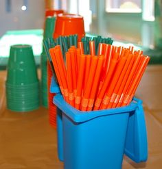 Trash Pack Party Straws