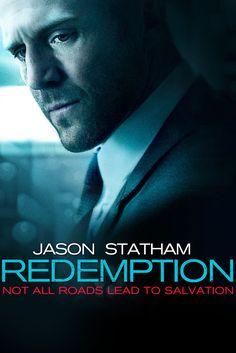 Redemption Movie Poster - Jason Statham, Agata Buzek, Vicky McClure  #Redemption, #MoviePoster, #ActionAdventure, #StevenKnight, #AgataBuzek, #JasonStatham, #VickyMcClure
