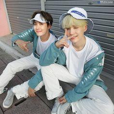Hoseok and Yoongi