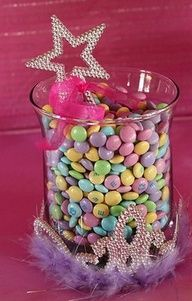 Princess Party food ideas!--Maybe a centerpiece idea :)