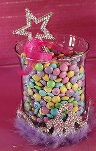 Princess Party food ideas!--Maybe a centerpiece idea :)