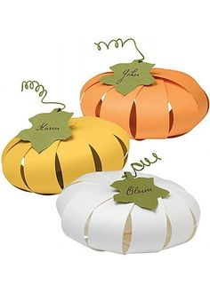 Paper Source has some really cute paper place card kits for autumn and Halloween, and I just had to give them a little shout out this week. The monster place cards (top below) would be such a fun choice for. Fall Crafts, Halloween Crafts, Holiday Crafts, Holiday Fun, Crafts For Kids, Holiday Decor, Holiday Ideas, Halloween Activities, Halloween Ideas