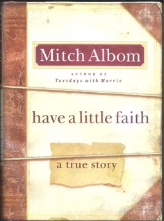 FIRST EDITION OF MITCH ALBOM'S 2009 BOOK.