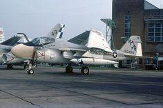160424/AB-501 - A-6E Intruder - US Navy / VA-34 - RAF Mildenhall - 26-Aug-78