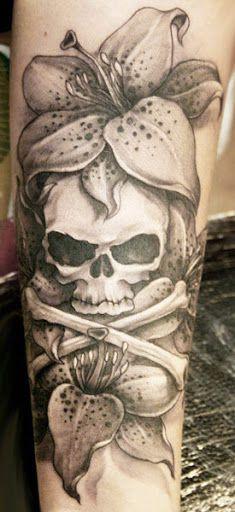 Realism Skull Tattoo by Valio Ska