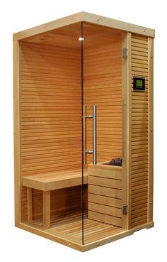 "Sauna in un piccolo spazio ""Christmas"" Sauna Steam Room, Sauna Room, Dream Bathrooms, Beautiful Bathrooms, Mini Sauna, Sauna House, Esthetics Room, Sauna Design, Build A Closet"