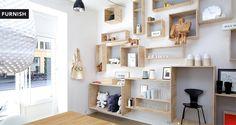 Furnish es una tienda de mobiliario y objetos de decoración situada en Copenhague