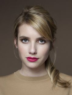 Emma Roberts~Love this lipstick!                                                                                                                                                                                 More
