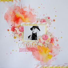 page by ANSKI #scrapbook