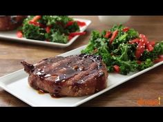 Grilling Recipes - How to Grill Pork Loin Chops