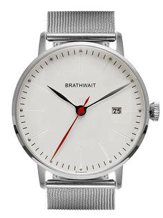 The automatic minimalist wrist watch: Mesh strap – Brathwait